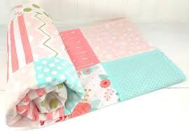 baby girl blanket minky blanket crib