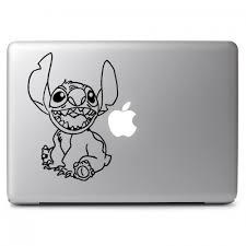 Disney Stitch Apple Macbook Air Pro 11 13 15 17 Vinyl Decal Sticker Dreamy Jumpers