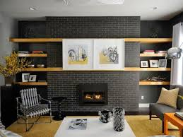 charcoal gray paint colors fireplace