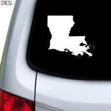 Louisiana La Decal For Car Window Stickany