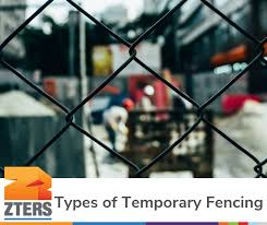 What To Know About The Types Of Temporary Fence Rentals Zters