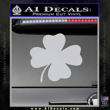Four Leaf Clover Decal Sticker A1 Decals