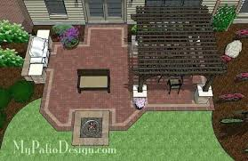 patio designs with fire pit zabava co