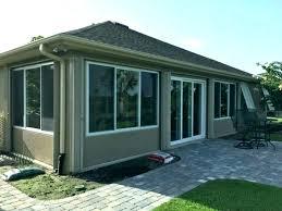 enclosed porch cost masonremodeling co