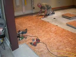 install hardwood floor on concrete