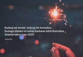 kata kata ucapan selamat tahun baru bermakna terbaik