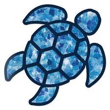 Red Hound Auto Sea Turtle Blue Crystal Sticker Decal Wall Tumbler Cup Window Car Truck Laptop 2 5 Inches Walmart Com Walmart Com