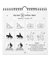 Sinterklaas Aftelkalender En Doe Boek Nieuwste Producten Tof