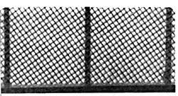 Plastruct Chain Link Fence Ho Scale Model Railroad Accessory 90451