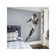 Atlanta Falcons Julio Jones Real Big Wall Decal By Fathead Carson Wentz Tennessee Titans Philadelphia Eagles