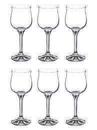 lead crystal diana wine drinking glass