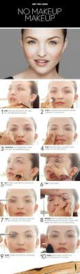 apply a natural makeup look pictures