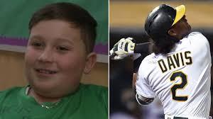 Athletics gift Khris Davis' game-worn jersey to Oakland boy who ...