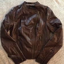 womens faux leather moto jacket
