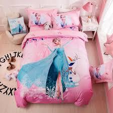 disney twin size frozen bedding set for