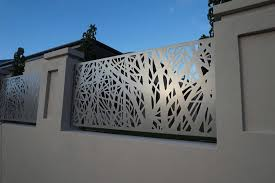 Decorative Cnc Gates Screening Platinum Barriers Fencing Gates