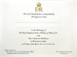 royal wedding invites