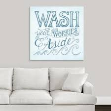 Greatbigcanvas Water Wash I By Sue Schlabach Canvas Wall Art 2398865 24 36x36 The Home Depot