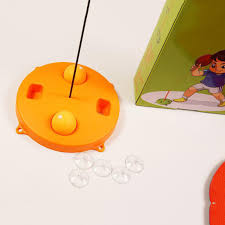 TRÒ CHƠI Bóng bàn luyện phản xạ cho bé Bộ đồ chơi bóng phản xạ ...