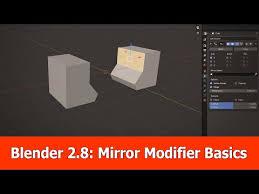 blender 2 8 mirror modifier beginner
