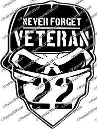Veteran 22 Skull Suicide Awareness Ptsd Support Our Troops Sticker Vinyl Decal Ebay