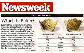 are lucky charms better for you than