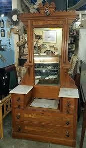 antique solid wood eastlake victorian