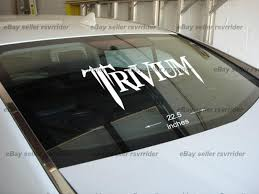 Find Large Trivium Decal Sticker For Car Or Truck Motorcycle In Kingston Pennsylvania Us For Us 15 00
