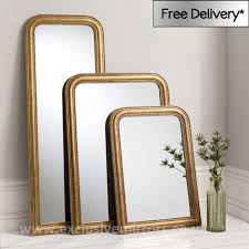 willow large gold mirror 102 x 76 5 cm