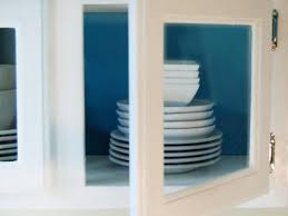 kitchen cabinets with glass inserts