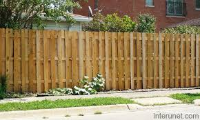 Simple Wood Semi Privacy Fence Picture Interunet