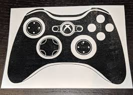 Xbox 360 And Xbox One Controller Vinyl Decals For Car Or Home Decor B Ftw Custom Vinyl