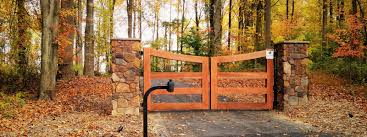 Driveway Gates Access Control Integrous Fences And Decks