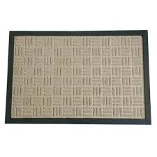 rubber cal wellington carpet doormat