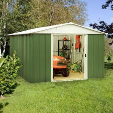 yardmaster metal shed instructions