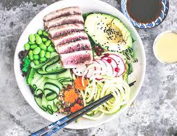 Grilled Ahi Tuna Bowl With Sesame ...