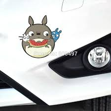 Car Styling Cartoon Lovely Cat Totoro Watermelon Car Sticker Motorcycle Decal For Toyota Ford Chevrolet Vw Opel Tesla Honda Lada Car Stickers Aliexpress
