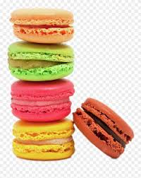 Macaroon Sticker Macaroons On White Background Clipart 3354528 Pinclipart