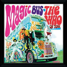 The Who Magic Bus Framed Album Print