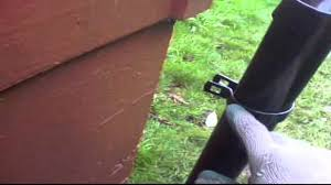 Fence Video On How To Install A Dummy Post For Chain Link Fence Vertical Gap Between Fencing And Structure Chain Link Fence Fence Pet Proof