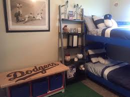 My Boys Dodger Bedroom I M In Love Dodgers Baseball Baseballbedroom Boysroom Baseball Bedroom Boy Room Boy S Room