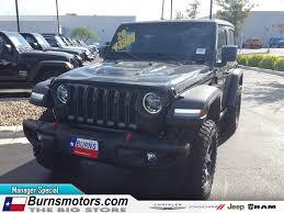 new 2020 jeep wrangler rubicon 4x4 for