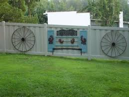 Fence Decor That Ll Make Your Yard Look Lovely