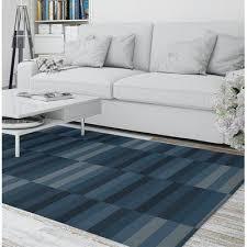 ebern designs zetzaf stripe blue gray