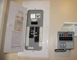 installing a power transfer switch