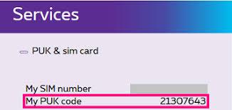 unlock puk blocked vodafone sim card