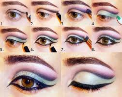 eye makeup on diffe eye shapes
