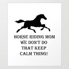 horse riding mom funny mothers day