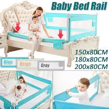 Bed Safety Rail Baby Bed Rail Baby Bed Bumper Fence Safety Gate Child Barrier Fortoddler Bed Guard 150cm Adjustable Folding Gift Bed Safety Rails Aliexpress