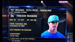 NMPreps - Trevor Rogers headed to Miami as Marlins select him No. 13 overall